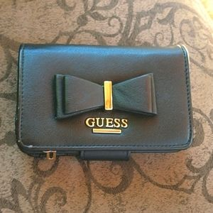 GUESS Cute Guess Black Wallet